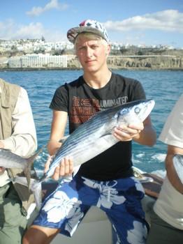 Atalntic Bonito Cavalier & Blue Marlin Sport Fishing Gran Canaria