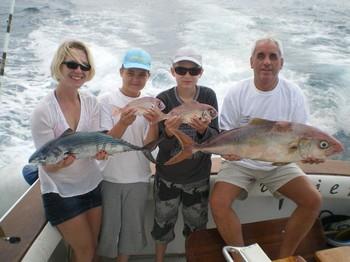 14/01 Satisfied Fishermen Cavalier & Blue Marlin Sport Fishing Gran Canaria