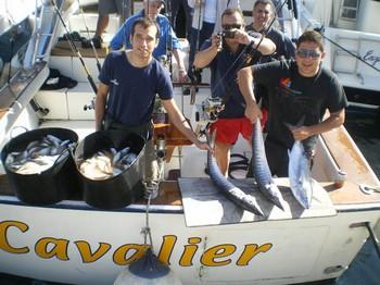Satisfied Fishers Cavalier & Blue Marlin Sport Fishing Gran Canaria