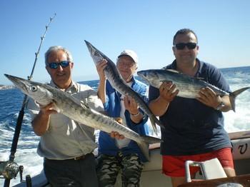 16/01 Baracuda's - Atlantic Bonito Cavalier & Blue Marlin Sport Fishing Gran Canaria