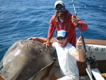 140 Kg Common Stingray Cavalier & Blue Marlin Sport Fishing Gran Canaria