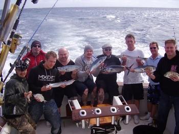 30/01 Satisfied Fishermen Cavalier & Blue Marlin Sport Fishing Gran Canaria