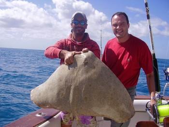 09/02 Butterfly Ray Cavalier & Blue Marlin Sport Fishing Gran Canaria