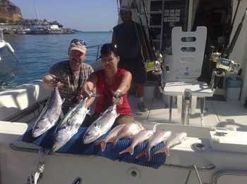 12/02 Atlantic Tuna and Red Snappers Cavalier & Blue Marlin Sport Fishing Gran Canaria
