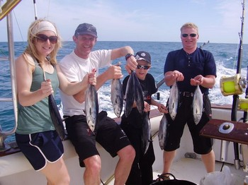 01/03 Satisfied Fishers Cavalier & Blue Marlin Sport Fishing Gran Canaria