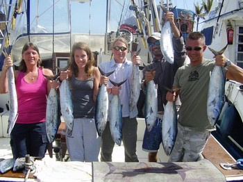 03/03 Atlantic Bonito's Cavalier & Blue Marlin Sport Fishing Gran Canaria