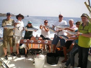 17/03 Happy Faces Cavalier & Blue Marlin Sport Fishing Gran Canaria