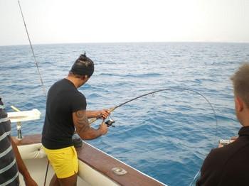 light tackle ! Cavalier & Blue Marlin Sport Fishing Gran Canaria