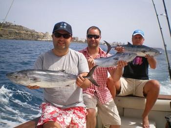 27/03 North Atlantic Bonito Cavalier & Blue Marlin Sport Fishing Gran Canaria