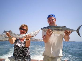 29/03 Happy Anglers Cavalier & Blue Marlin Sport Fishing Gran Canaria
