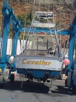 dry dock Cavalier & Blue Marlin Sport Fishing Gran Canaria