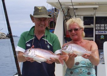24/04 Red Snappers Cavalier & Blue Marlin Sport Fishing Gran Canaria