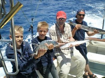 14/05 Happy Fishermen Cavalier & Blue Marlin Sport Fishing Gran Canaria