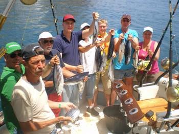 20/05 Skipjack Tunas Cavalier & Blue Marlin Sport Fishing Gran Canaria