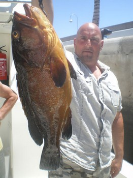 24/05 Red Grouper Cavalier & Blue Marlin Sport Fishing Gran Canaria