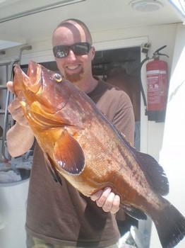 26/05 Red Grouper Cavalier & Blue Marlin Sport Fishing Gran Canaria