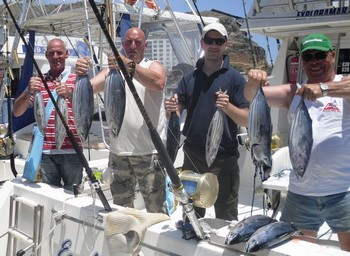 27/05 Satisfied Fishermen Cavalier & Blue Marlin Sport Fishing Gran Canaria