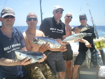 29/05 Skipjack Tuna Cavalier & Blue Marlin Sport Fishing Gran Canaria