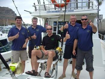 Doko Club Stichlinge Cavalier & Blue Marlin Sport Fishing Gran Canaria