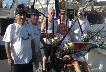 Team Cor Tabak Cavalier & Blue Marlin Sport Fishing Gran Canaria