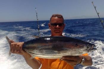03/07 Skipjack Tuna Cavalier & Blue Marlin Sport Fishing Gran Canaria