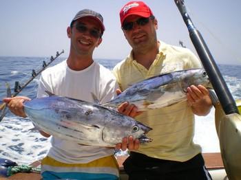 13/07 Skipjack Tunas Cavalier & Blue Marlin Sport Fishing Gran Canaria