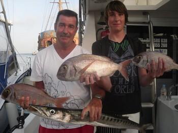 26/07 Buena captura Pesca Deportiva Cavalier & Blue Marlin Gran Canaria