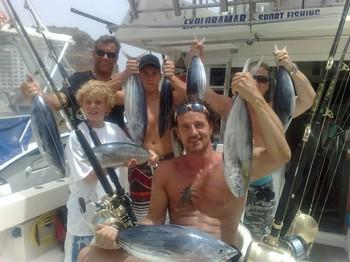 Happy Fishermen Cavalier & Blue Marlin Sport Fishing Gran Canaria