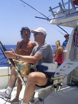 06/08 Hooked Up Cavalier & Blue Marlin Sport Fishing Gran Canaria