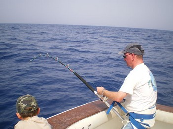 Stand-Up Cavalier & Blue Marlin Sport Fishing Gran Canaria