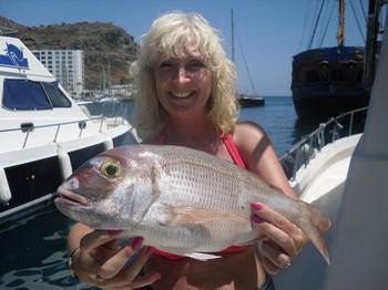 19/08 Red Snapper Cavalier & Blue Marlin Sport Fishing Gran Canaria