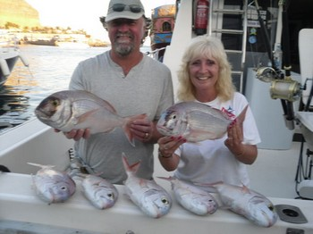 20/08 Red Snappers Cavalier & Blue Marlin Sport Fishing Gran Canaria