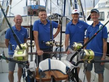 Team K.E.M.P Cavalier & Blue Marlin Sport Fishing Gran Canaria