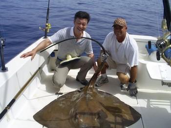 16/09 Common Stingray Cavalier & Blue Marlin Sport Fishing Gran Canaria