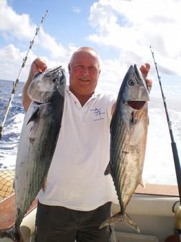 2 Sierra Tunas Cavalier & Blue Marlin Sport Fishing Gran Canaria