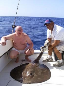 03/11 Roughtail Stingray Cavalier & Blue Marlin Sport Fishing Gran Canaria