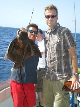 04/11 Eagle Ray Cavalier & Blue Marlin Sport Fishing Gran Canaria