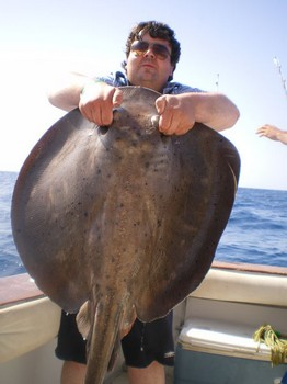 05/11 Roughtail Stingray Cavalier & Blue Marlin Sport Fishing Gran Canaria