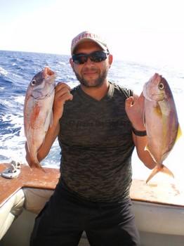 Snapper - Amberjack Cavalier & Blue Marlin Sport Fishing Gran Canaria