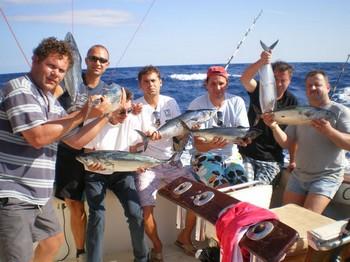 12/11 Satisfied Fishermen Cavalier & Blue Marlin Sport Fishing Gran Canaria
