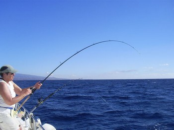 24/11 Hooked Up Cavalier & Blue Marlin Sport Fishing Gran Canaria