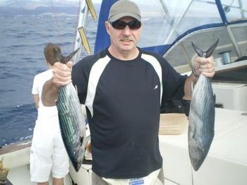 Atunes de la Sierra Atlántica Pesca Deportiva Cavalier & Blue Marlin Gran Canaria