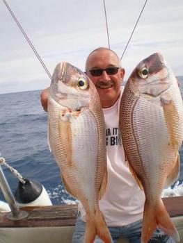 03/01 Pargos rojos Pesca Deportiva Cavalier & Blue Marlin Gran Canaria