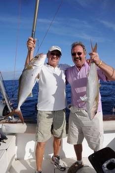 2 Amberjacks Cavalier & Blue Marlin Sport Fishing Gran Canaria