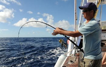 22/01 Hooked up Cavalier & Blue Marlin Sport Fishing Gran Canaria