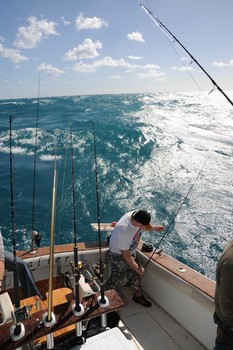 Stormy Sea Cavalier & Blue Marlin Sport Fishing Gran Canaria
