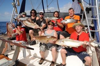 27/01 Pescadores satisfechos Pesca Deportiva Cavalier & Blue Marlin Gran Canaria