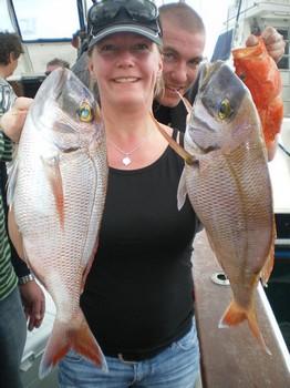 Pargos rojos Pesca Deportiva Cavalier & Blue Marlin Gran Canaria