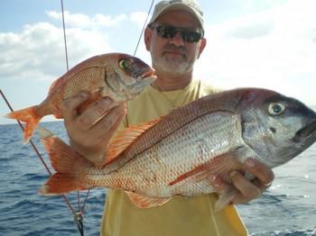 03/02 Pargos rojos Pesca Deportiva Cavalier & Blue Marlin Gran Canaria