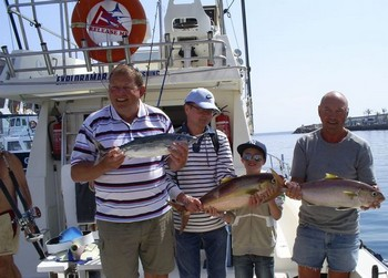 24/02 Happy Anglers Cavalier & Blue Marlin Sport Fishing Gran Canaria